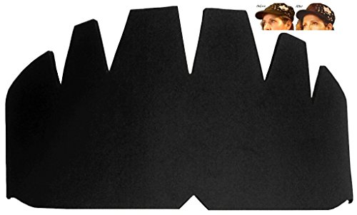 1 Pk. Black: Baseball Caps Inserts| Hat Shaper| Flexible Hig