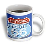 3dRose mug_88027_2 Arizona, Seligman, Neon Signage on Historic Route 66-US03 LSE0015-Lynn Seldon Ceramic Mug, 15-Ounce