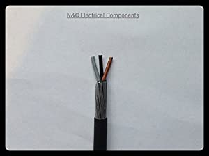 2.5MM 3 CORE SWA ARMOURED CABLE 10 METERS 6943X