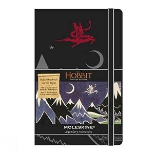 Moleskine The Hobbit Limited Edition Hard Ruled Pocket Notebook 2013 - Black
