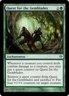 Magic: the Gathering - Quest for the Gemblades (177) - Zendikar (Mtg Quest For The Gemblades compare prices)