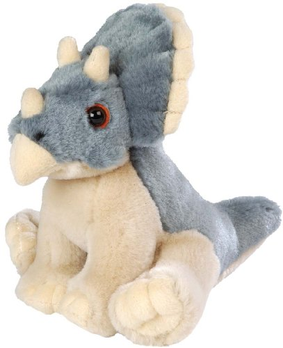 Peluche Bebe triceratops - 13 cm