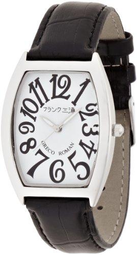 [フランク三浦]MIURA 零号機(改) グレコローマン400戦無敗記念モデル 正回転 完全非防水 腕時計 ジャパンクオーツ FM00K-WH
