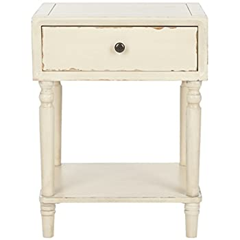 Safavieh American Home Collection Siobhan Vintage Cream Accent Table