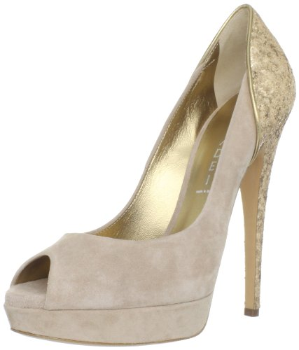 Casadei Women's 2017 Peep-Toe Pump