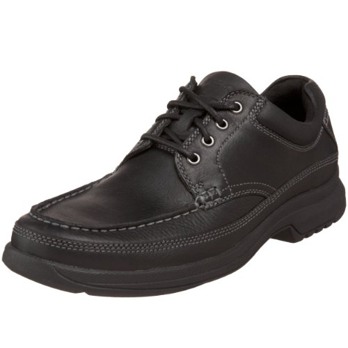 Rockport Mens Banni Moc-Toe Rugged Oxford