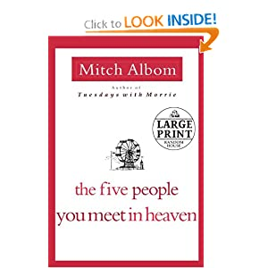 The Five People You Meet in Heaven (Random House Large Print) download