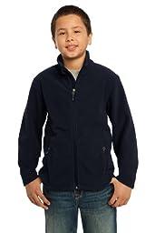 Port Authority Boys\' Value Fleece Jacket M True Navy