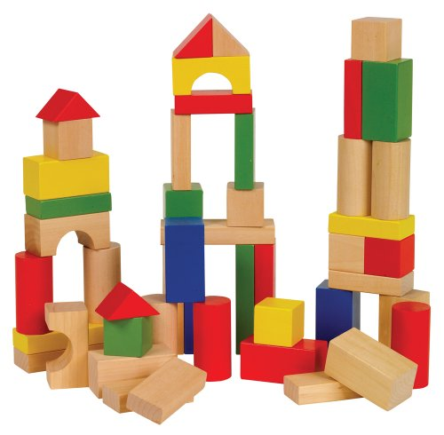 Small World Toys Ryan'S Room -Bag O' Blocks, Natural Color front-398647