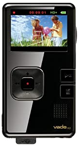 Creative Labs Vado HD 4GB Pocket Video Camcorder 2nd Generation (Black Gloss)