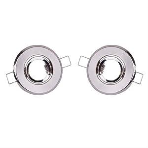 2 x MR11 Spotlight Mounting Brackets for Recess LED / Halogen Fixture Light---68mm from Generic