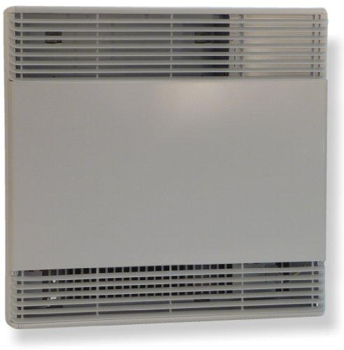 King Kcem2415-Wt European Convector Wall Heater With Wall-Mounted Electronic Thermostat 240 Volts 1500/1125 Watts, 26.5-Inch Length, White