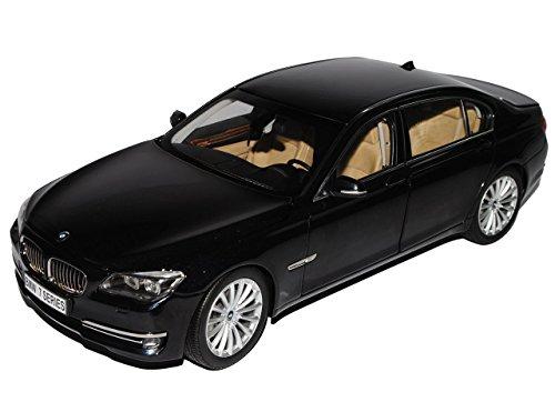 BMW-7er-750Li-Limousine-Karbon-Schwarz-F02-Ab-2008-Ab-Facelift-2012-118-Kyosho-Modell-Auto-mit-individiuellem-Wunschkennzeichen
