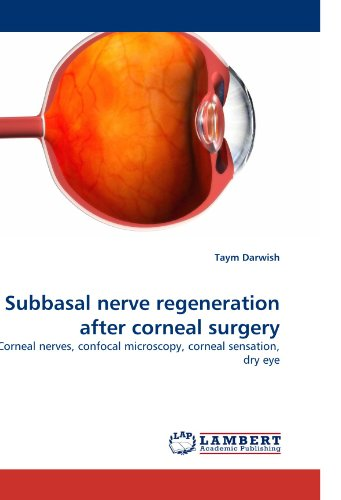 Subbasal Nerve Regeneration After Corneal Surgery: Corneal Nerves, Confocal Microscopy, Corneal Sensation, Dry Eye
