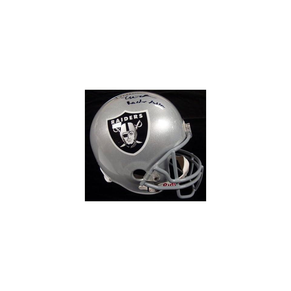 5fe86ff6d Darren McFadden Autographed Oakland Raiders Full Size on PopScreen