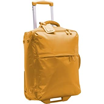 "Lipault Paris Plume - 0% Foldable 22"" 2-Wheeled Carry-On Carry On Mustard"