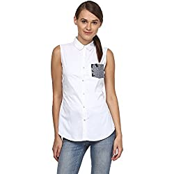 Annapoliss Women's Shirts (ANWH06_White_Small)