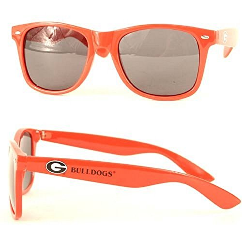 NCAA Officially Licensed Wayfarer Sunglasses (Georgia Bulldogs) (Ga Bulldogs Sunglasses compare prices)