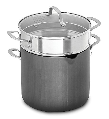 Calphalon 1932446 Classic Nonstick Stock Pot, 8 quart, Grey (Calphalon Insert compare prices)
