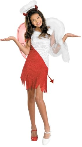 Disguise Sassy Scene Heavenly Devil Deluxe Tween Costume