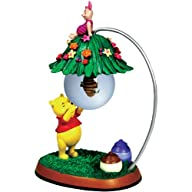 Westland Giftware Winnie The Pooh Beehive Pooh and Piglet Glass Ball Figurine
