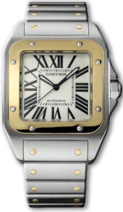 Cartier Mens Santos