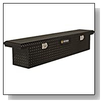 Northern Tool + Equipment Lo-Pro Slimline Aluminum Crossbed Truck Box - Black, 70in. Box