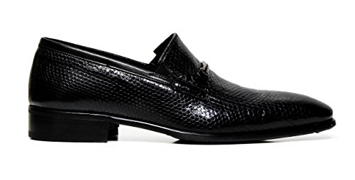 Cristiano Gualtieri uomo mocassini slip on pelle 971AS LAPEMIS NERO
