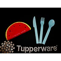 Tupperware On The Go 6 Set Of Spoon And Fork (Total 12 Pcs)