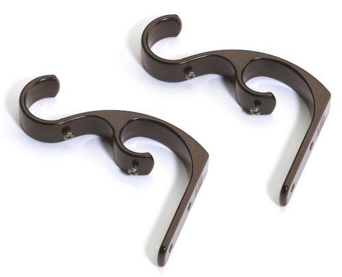 Umbra Cadet Double Brackets, Set of 2, Auburn Bronze