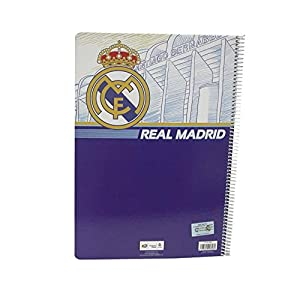 Cuaderno A4 Real Madrid 80h