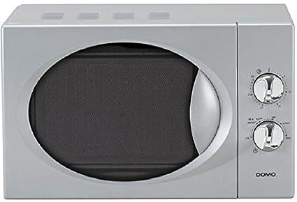 Moderne Argent micro-ondes le boîtier élégant chromé-Volume 17liter-Puissant et économe en énergie à seulement 800W-Neuf et OVP.