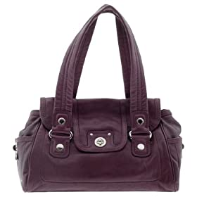 Marc by Marc Jacobs Totally Turnlock Mini Quinn Satchel Bag Bright Purple