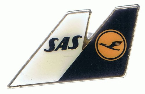 Lufthansa - Star Alliance - SAS - Doppelflügel - Pin