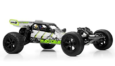 Mad Gear Racing Desert Wolf Baja 1/10 2WD RTR RC Buggy (Green)