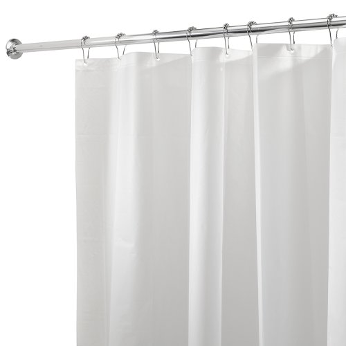 Accesorios De Baño Interdesign:Mildew Resistant Shower Curtain Liners Clear