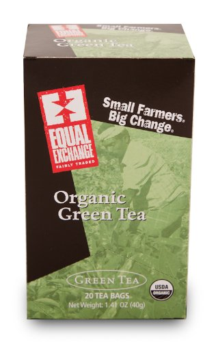Equal Exchange Organic Green Tea, 20-Count (Pack Of 3)