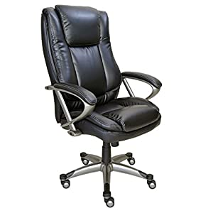 True Innovations Big Tall Heavy Duty Series 24 Hour High Back Bonded Leather Chair