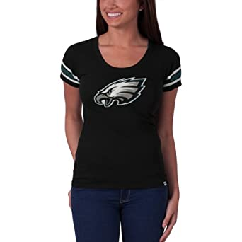 NFL Philadelphia Eagles Ladies Off Campus Scoop Neck Tee by