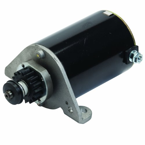 Oregon 33-719 Electric Starter Motor Replacement For Briggs & Stratton 396306, 391178
