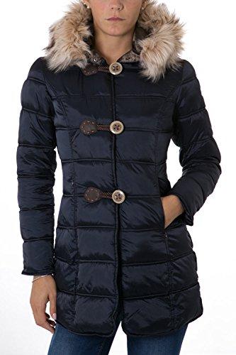 NO ZONE - Giacchetto con cappuccio da donna lola xs blu