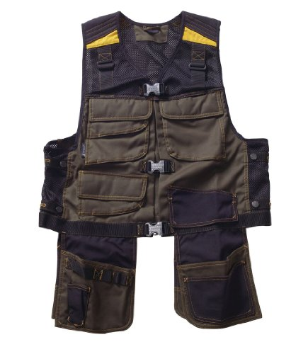 Mascot® Serpa Tool Vest - Dark Olive / Black - Us Size Small