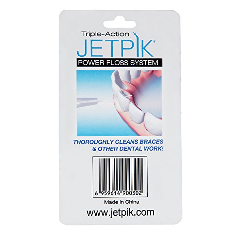 Jetpik PowerFloss Cartridge, (10) Pack