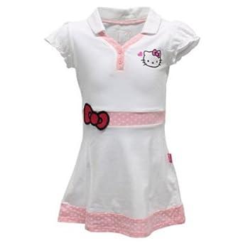 Buy Hello Kitty Girls` Princess Sleeve V Neck Tennis Dress White by Hello Kitty