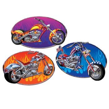 Chopper Cutouts Party Accessory (1 count) (3/Pkg) - 1