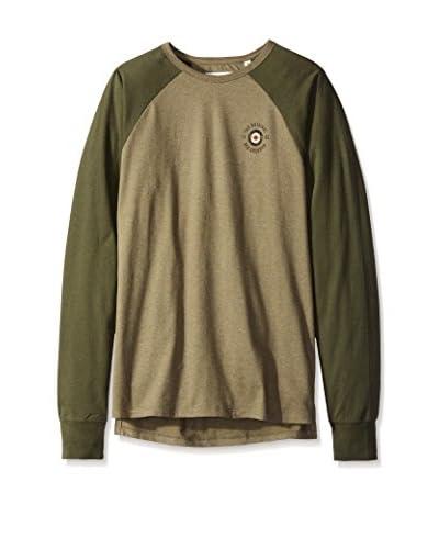 Ben Sherman Men's Color Blocked Long Sleeve T-Shirt