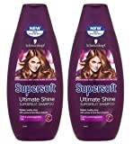 Schwarzkopf Supersoft Ultimate Shine Superfruit Shampoo 400ml