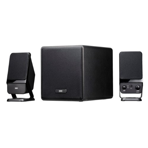 Sanwa 2.1 multimedia speakers (black) MM-SPSW8BK
