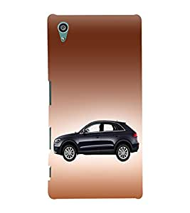 Classic Car Design 3D Hard Polycarbonate Designer Back Case Cover for Sony Xperia Z5 :: Sony Xperia Z5 Dual (5.2 Inches)