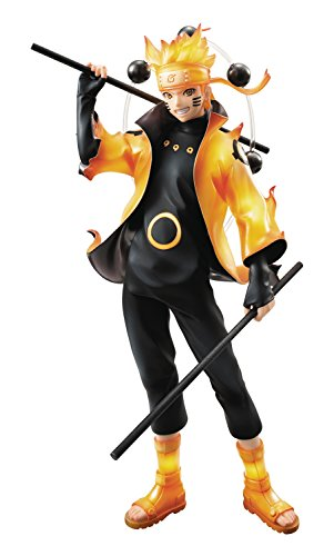 Megahouse Naruto Shippuden: Uzumaki Naruto GEM PVC Figure (Sennin Mode Version) (Naruto Figures compare prices)